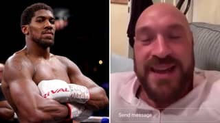 Tyson Fury Asked For His Prediction On Mega-Unification Bout With Anthony Joshua