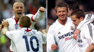 Michael Owen's Reason For Why David Beckham And Him Weren't Friends At Real Madrid