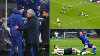 Spurs Fans Rip Into Jose Mourinho After Shocking First Half Display Against Chelsea