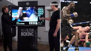 Tyson Fury's Former Trainer Explains 'Habit' That Led To His 12th-Round Knockdown By Deontay Wilder