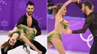 Ice Skater Gabriella Papadakis Endures 'Nightmare' Wardrobe Malfunction, Dress Comes Undone
