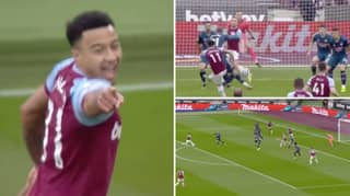 Jesse Lingard Scores A Screamer Against Arsenal And He's Officially Back To His Best