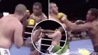 UFC Star Francis Ngannou Shares Rare Footage Of His First KO Win And It's Brutal As Hell