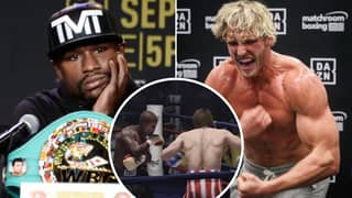 Floyd Mayweather Vs Logan Paul Simulated On Fight Night Champion, Ends In Brutal Knockout