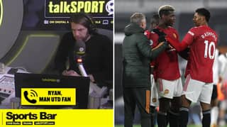"Caller Opens Up About How Manchester United Have ""Helped Me Turn My Life Around"" After Mental Health Struggles"
