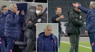 What Jose Mourinho Told Frank Lampard In Heated Touchline Argument During Tottenham Vs Chelsea