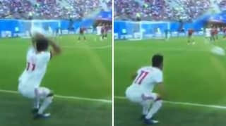 Iran's Vahid Amiri Takes The Worst Throw-In In World Cup History