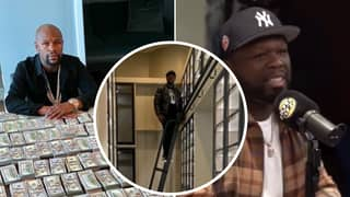 Floyd Mayweather Posts Hilarious Comeback To 50 Cent Saying His Money Is 'Gone'