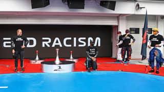 Lewis Hamilton Slams F1's 'Rushed' Pre-Race Anti-Racism Ceremony