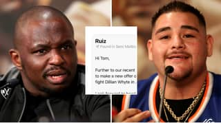 Dillian Whyte Posts Screenshot Of Email Showing Eddie Hearn's HUGE Offer To Andy Ruiz Jr
