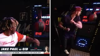 Logan Paul Beats KSI And Smashes Record In Punch Machine Challenge