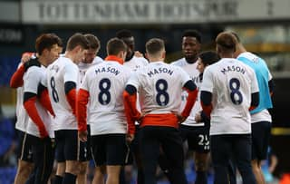 Spurs Players Pay Touching Tribute To Ryan Mason After Wycombe Win