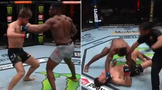 Francis Ngannou Violently Knocks Out Stipe Miocic To Win UFC Heavyweight Title