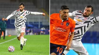 Bruno Fernandes Lost Possession 34 Times In Tonight's Champions League Clash Against Istanbul Basaksehir