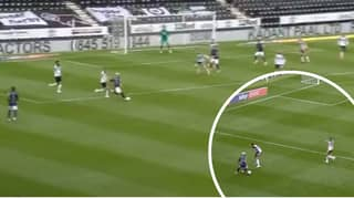 Said Benrahma Curls In Sensational Long-Range Goal Against Derby County
