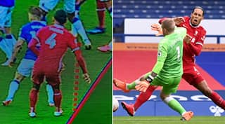 Why Jordan Pickford Wasn't Sent Off For Hideous Challenge On Virgil Van Dijk