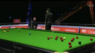 Ronnie O'Sullivan And Mark Allen Have An Incredible Exchange During Snooker Champion Of Champions Match