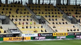 Danish Football Allows Fans Back In With Social Distancing