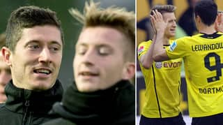 Is That Marco Reus? Robert Lewandowski Looks Completely Different After Makeover