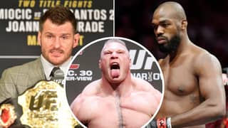 "Stipe Miocic ""100 Per Cent"" Thinks He Deserves Brock Lesnar Fight Over Jon Jones"