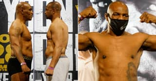 Mike Tyson Weighs In At Lightest For 23 Years Before Intense Face-Off With Roy Jones Jr