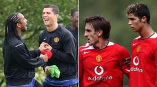 Gary Neville Explains The Reason Why He Complained About Cristiano Ronaldo To Man United Coach