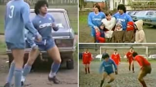 The Brilliant Story Behind Diego Maradona Playing In Charity Game In Naples Against The Wishes Of His Club