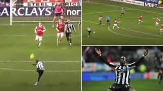 Cheick Tiote's Equaliser In Newcastle 4-4 Arsenal Is One Of The Premier League's Greatest Goals