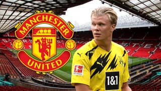 Erling Haaland Is Manchester United's 'Priority Centre Forward Target' In The Transfer Window