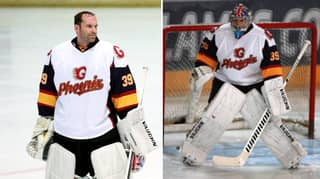 Petr Cech Makes His Debut For Ice Hockey Side Guildford Phoenix