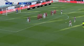 Cristiano Ronaldo Scores First Club Free-Kick In Over Two Years And It's A Stunner