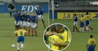 Roberto Carlos Explains Secret Behind How He Scored 'Impossible' Free-Kick