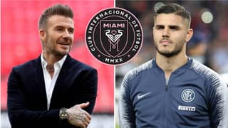 Inter Milan Outcast Mauro Icardi Receives An Offer From David Beckham To Join Inter Miami