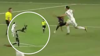 Zlatan Ibrahimovic Almost Accidentally KO'd Los Angeles Player After Scoring