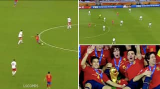 Video Of Xavi At 2010 World Cup Shows What An Artist He Was On The Pitch