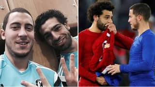 Eden Hazard Says He Will Support Egypt At The World Cup For Mo Salah