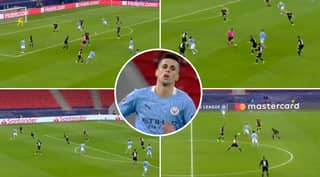 Compilation Of Joao Cancelo Vs Borussia Monchengladbach Shows Why He Is The Best Full-Back In World Football