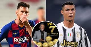 Pele Has Won More Ballon d'Or Awards Than Lionel Messi Or Cristiano Ronaldo