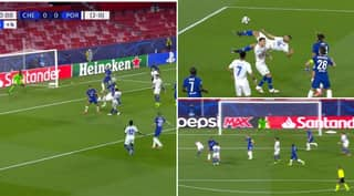 Porto Striker Mehdi Taremi Scores World-Class Overhead Kick Against Chelsea In Champions League