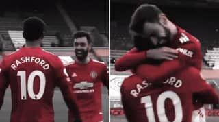 Manchester United Fans Loved Bruno Fernandes Asking Marcus Rashford About His Assist