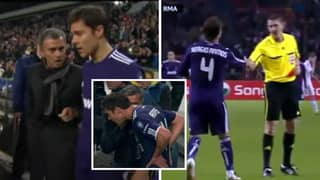 The Infamous Game Jose Mourinho Told Xabi Alonso And Sergio Ramos To Get Sent Off