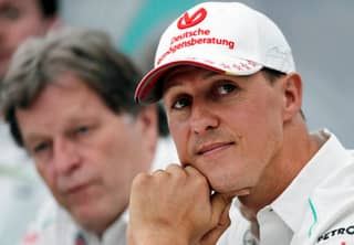 First Picture Of Michael Schumacher Since His Life-Threatening Injury Being Sold For £1 Million