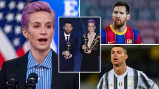 Megan Rapinoe Calls On Cristiano Ronaldo And Lionel Messi To Support Fight Against Racism
