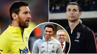 Trent Alexander-Arnold's Hilarious Response When Asked To Pick Between Messi And Ronaldo