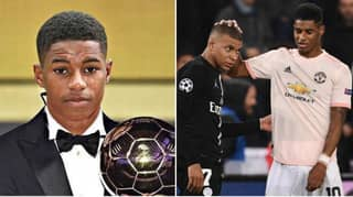 'Marcus Rashford Can Reach Kylian Mbappe Level And Win Ballon d'Or'
