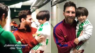 Andres Guardado Carries His Son To Meet Lionel Messi And He's The Nicest Guy Ever