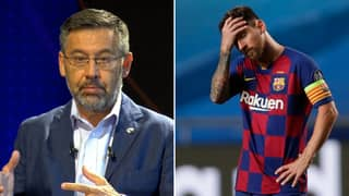 Barcelona President Provides Major Update On Lionel Messi's Future During Club Address