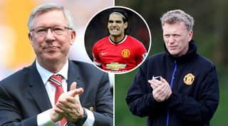 Sir Alex Ferguson Tried To Sign Edinson Cavani For Manchester United On Behalf Of David Moyes In 2014