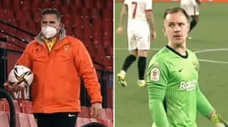 Marc-Andre Ter Stegen Got Into An Argument With 'Ball Boy' During Copa Del Rey Loss