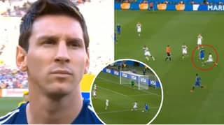 Video Of Lionel Messi's Performance Against Germany In World Cup Final Is Circulating